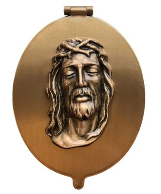 Bronze-Oval-Frame-with-Jesus-on-Cover